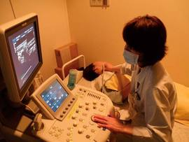 心臓と血管の変化をみるエコー(超音波検査)